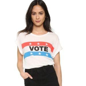 • wildfox VOTE crew neck tee •